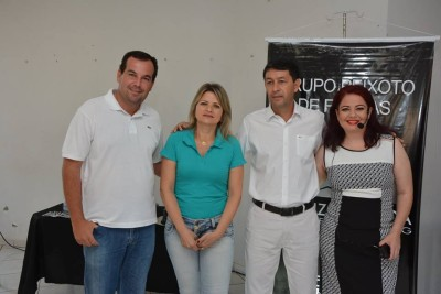 Prefeitável Pacheco jr e Esposa.