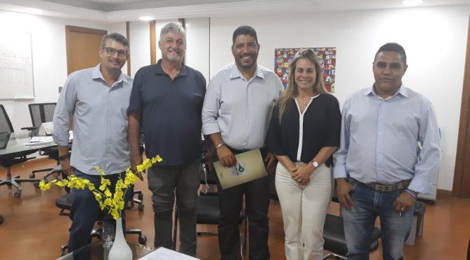 ACIRLAG leva demadas à SEFAZ Goiás